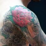 tatouage japonais homme epaule