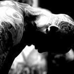 tatouage sur la tete