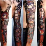 tatouage halloween par steph d octopus tatouage pontoise