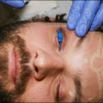 Tatouage de monstres sur les yeux