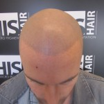 tatouage faux cheveux