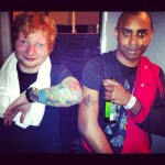 Tatouage Ed Sheeran Random impulse