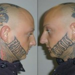tatouage insolite de skin head earth crisis