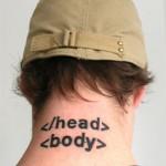 tatouage insolite html head body