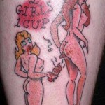 Tatouage raté 2 girls 1 cup