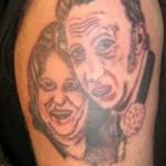 Tatouage raté de couple