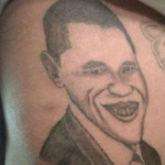 Tatouage raté de Barack Obama