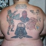 Tatouage raté Star Wars