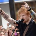 Les tatouages d'Ed Sheeran sur les avant bras