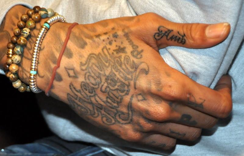 Tatouages De Wiz Khalifa Amber Rose Tattoo Tatouages Com