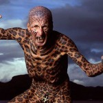 Tom Leppard, l'homme leopard