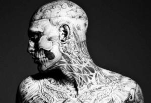 Zombie Boy, l'un des tatoués intégraux les plus célèbres