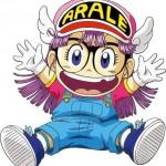 Un modèle de tatouage du personnage de dessin animé Arale