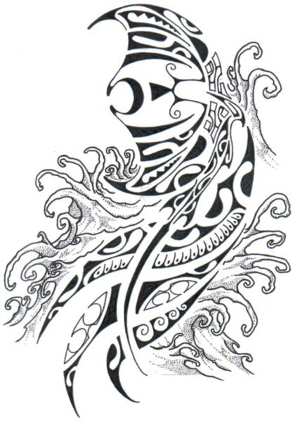 Tatouage polyn sien tattoo marquisien tahitien histoire et motifs du tatouage polyn sien - Tatouage raie manta signification ...