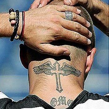 tatouage david beckham, les tatouages de beckham, tattoos de