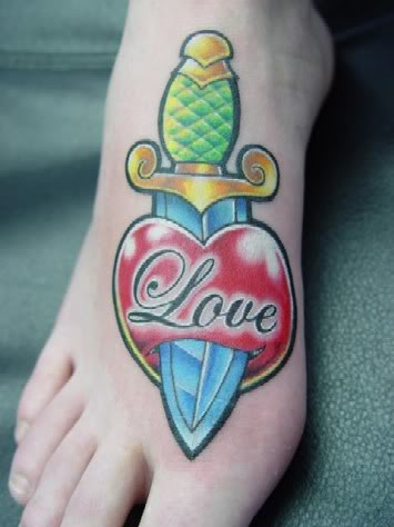 Tatouage pied mod le de tatouage sur le pied motifs pour tattoo des pieds papillon fleurs - Modele tatouage coeur ...
