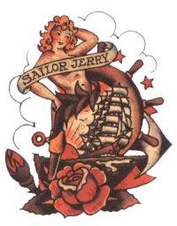 Tatouage Old School Modele De Tatouage Old School Signification Des Tattoos Old Et New School Tattoo Tatouages Com
