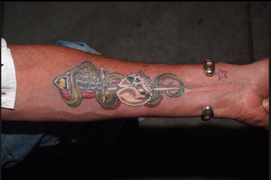 Tatouage Johnny Hallyday Tatouage De Loup Aigle Poignard Old School Lettres Chinoises Les Tattoos De Johnny Tattoo Tatouages Com