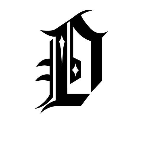 Tatouage criture gothique mod le tatouage lettres gothiques symbolique des critures - Police ecriture tatouage ...