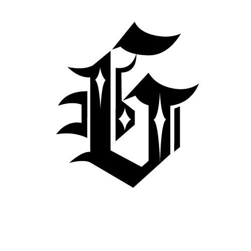 tatouage  u00e9criture gothique  mod u00e8le tatouage lettres