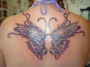 Tatouage papillon mod le de tatouage et signification symbolique du papillon tattoo - Symbolique des tatouages ...