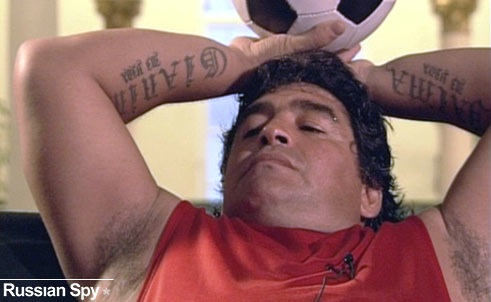 Calling your penis diego maradona because its a cheating fucker