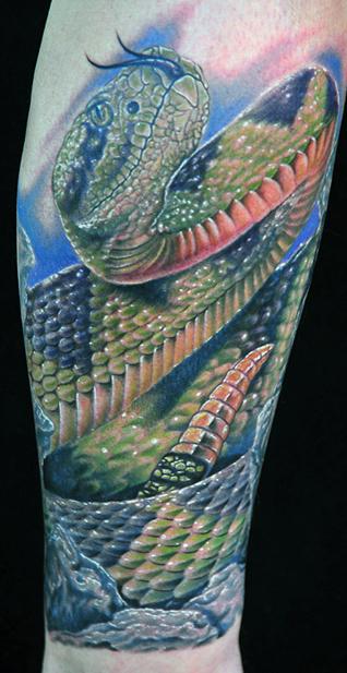 Tatouage serpent, modèle de tatouage de serpent et symbolique des ...