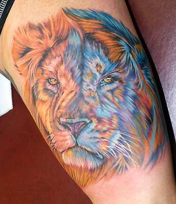 Tatouage lion signe astrologique du lion signification - Tatouage lion signification ...