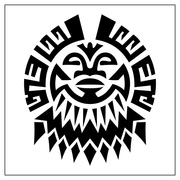 african tribal art symbols the image. Black Bedroom Furniture Sets. Home Design Ideas
