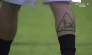 tatouage de daniele de rossi