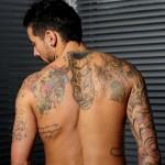 Tatouage de ezequiel lavezzi PSG et Argentine