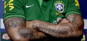 Tatouages sur les bras de Marcelo