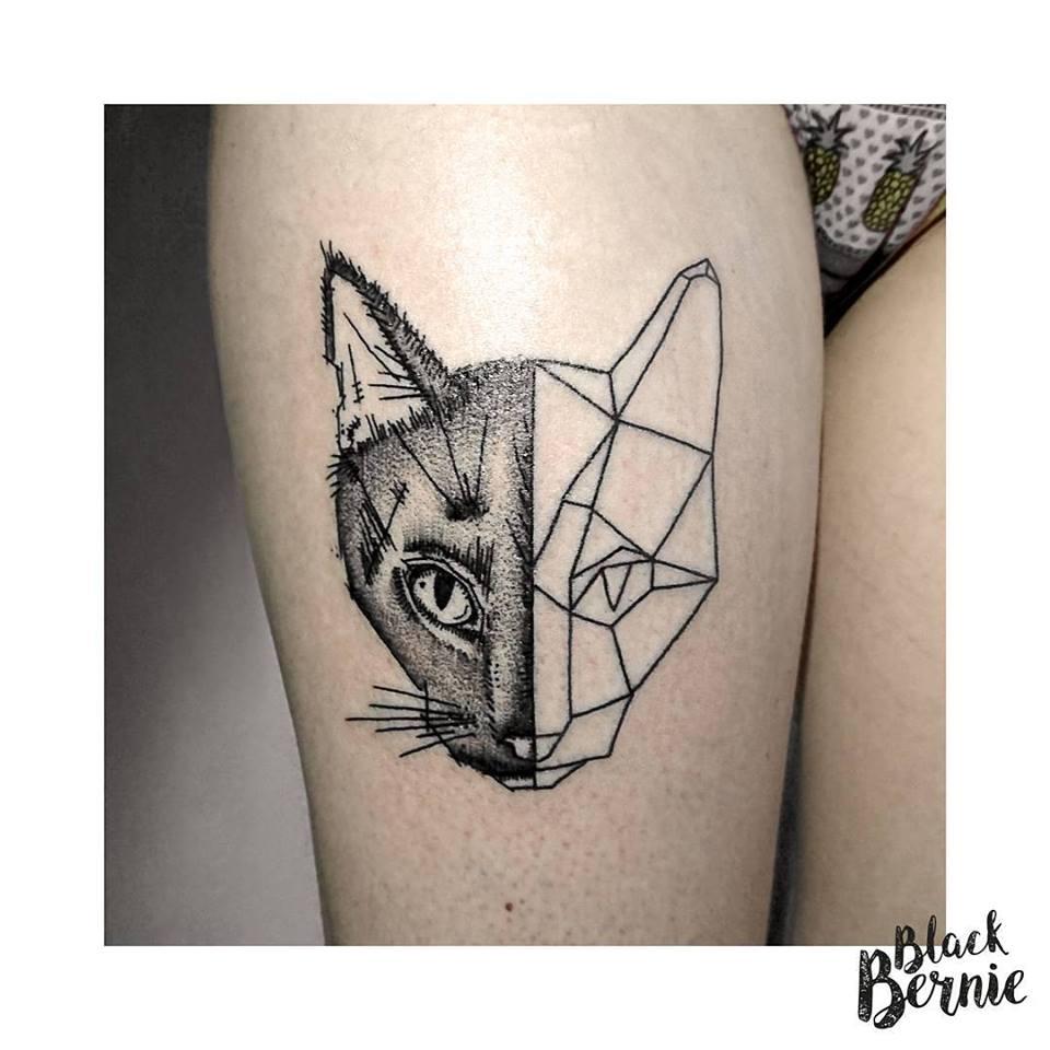 black bernie tattoo une tatoueuse qui d chire lyon tattoo tatouages com. Black Bedroom Furniture Sets. Home Design Ideas